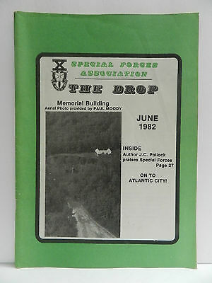 """""""Green Beret"""" The Drop Magazine, June 1982 Issue, Special Forces Association"""