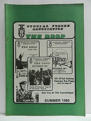"""""""Green Beret"""" The Drop Magazine, Summer 1985 Issue, Special Forces Association"""