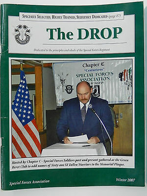 """""""Green Beret"""" The Drop Magazine, Winter 2007 Issue, Special Forces Association"""