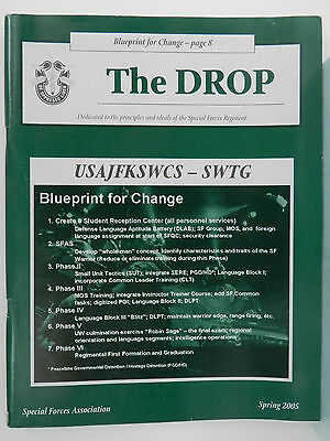 """""""Green Beret"""" The Drop Magazine, Spring 2005 Issue, Special Forces Association"""