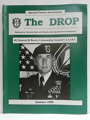 """""""Green Beret"""" The Drop Magazine, Summer 1996 Issue, Special Forces Association"""