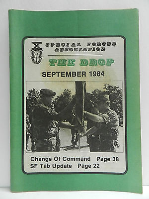 """""""Green Beret"""" The Drop Magazine, Sept. 1984 Issue, Special Forces Association"""