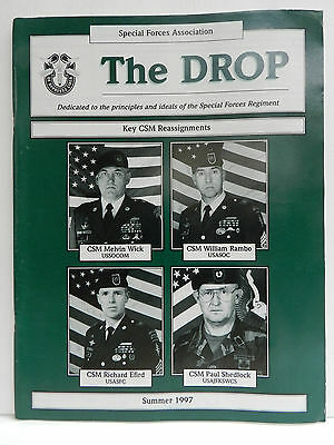 """""""Green Beret"""" The Drop Magazine, Summer 1997 Issue, Special Forces Association"""