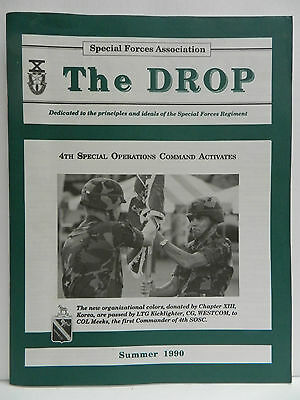 """""""Green Beret"""" The Drop Magazine, Summer 1990 Issue, Special Forces Association"""