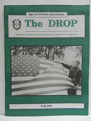 """""""Green Beret"""" The Drop Magazine, Fall 1991 Issue, Special Forces Association"""