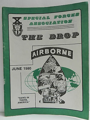 """""""Green Beret"""" The Drop Magazine, June 1980 Issue, Special Forces Association"""