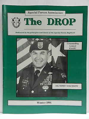 """""""Green Beret"""" The Drop Magazine, Winter 1991 Issue, Special Forces Association"""