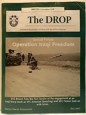 """""""Green Beret"""" The Drop Magazine, Fall 2003 Issue, Special Forces Association"""