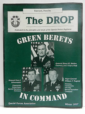 """""""Green Beret"""" The Drop Magazine, Winter 1997 Issue, Special Forces Association"""
