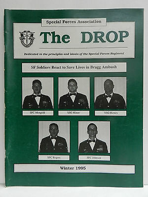 """""""Green Beret"""" The Drop Magazine, Winter 1995 Issue, Special Forces Association"""