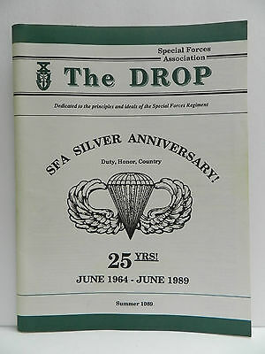 """""""Green Beret"""" The Drop Magazine, Summer 1989 Issue, Special Forces Association"""