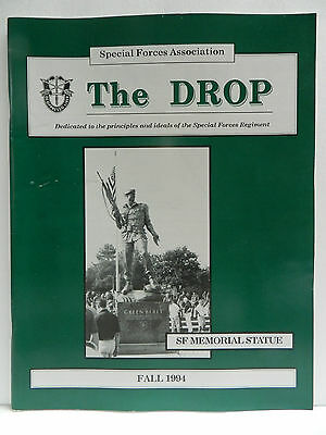 """""""Green Beret"""" The Drop Magazine, Fall 1994 Issue, Special Forces Association"""
