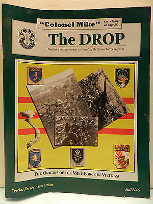 """""""Green Beret"""" The Drop Magazine, Fall 2009 Issue, Special Forces Association"""