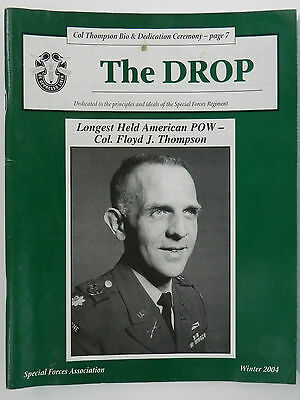 """""""Green Beret"""" The Drop Magazine, Winter 2004 Issue, Special Forces Association"""