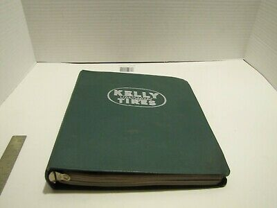 1960'S Kelly Springfield Tire Tire Store Display & Price List Notebook W/Ads