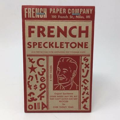 French Speckletone Paper Company Promotional Swatch Book CSA Design