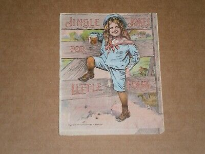 Vintage Jingle Jokes Advertising Promo Brochure by Hires Root Beer 1901
