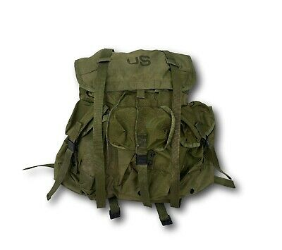Vintage 1970's 1976 US Military Army LC-1 Nylon Field Alice Pack Backpack