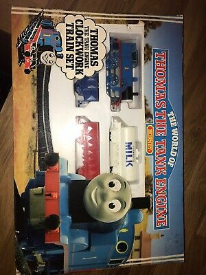 thomas the tank engine Hornby Clockwork Train Set Still In Box