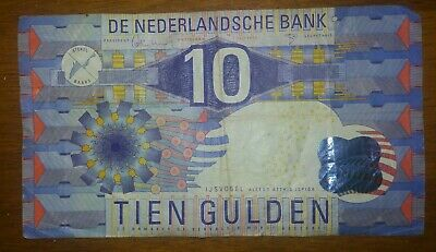 Netherlands Holland Series 1997 fl10 Gulden Note Circulated (Pre Euro) P-99