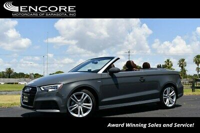 2018 Audi A3 2.0 TFSI Premium Plus quattro AWD W/Technology and 2018 A3 Cabriolet Convertible 22,006 Miles With warranty-Trades,Financing & Ship