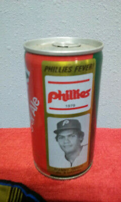 Canada Dry Phillies   Manny Trillo Crimp Steel Cheap  Soda Can Cans