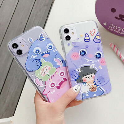Cute Shockproof Phone Case+ Airpods Cover For iPhone Xs Max SE 2020 SR 6s 8 Plus