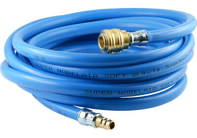 Braided PVC Hose With Fabric Insert - Complete Coupling Socket And Plug NW 7,2