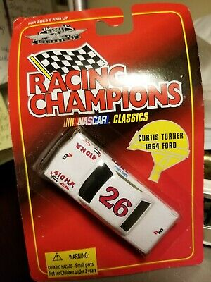 Racing Champions Nascar Curtis Turner 1964 Ford #26 Classics  1.64 Scale