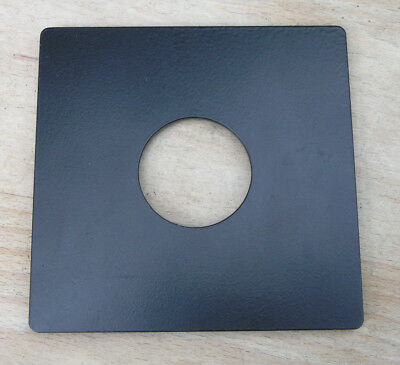 ebony style  Metal flat  lensboard for copal  0  98 x 96