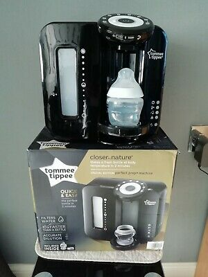 Tommee Tippee Closer To Nature Quick&Easy Perfect Prep Machine*Black*