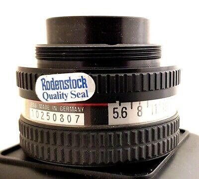 RODENSTOCK RODAGON 1:5.6 f=105mm ENLARGER LENS 10250807