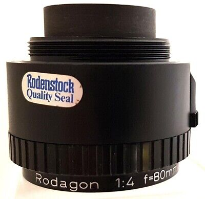 RODENSTOCK RODAGON 1:4 f=80mm ENLARGER LENS 10516492