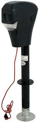 Smartxchoices Black Power Tongue Jack Height Adjustable Electric Trailer Jack -3