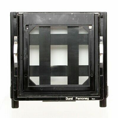 DURST FEMONEG NEGATIVE CARRIER + GLASS 14x14 cm P.N BA 30.200 DURST ENLARGER1200