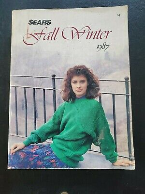 Vintage Sears Fall and Winter 1987 Catalog
