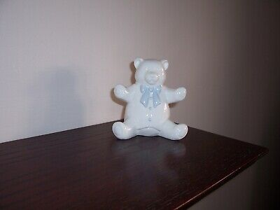 "Coalport Bone China Moments ""A Baby Boy"" Teddy Bear Figurine"