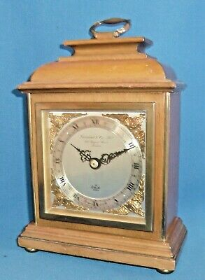 Quality Elliott Mantle Clock retailed by Garrard & Co London