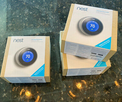 Nest 2nd Generation Learning Silver Programmable Thermostat - Model: T200577