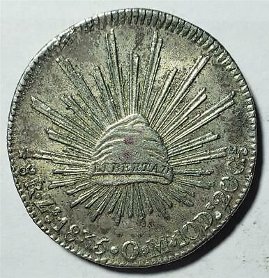 Mexico, 8 Reales, 1835 ZsOM, Extra Fine, Nice Detail, .7859 Ounce Silver