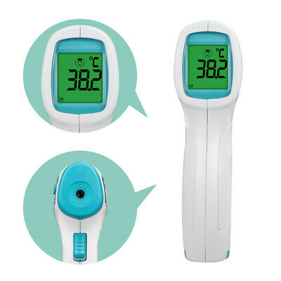 Medical Non-Contact Infrared Thermometer Gun Digital Forehead Body Adult Baby