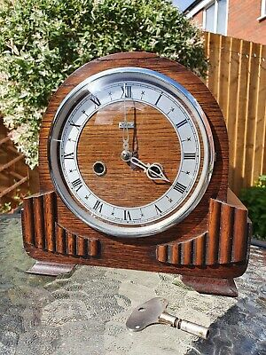 Enfield Chiming Mantel Clock Fully Working With Key
