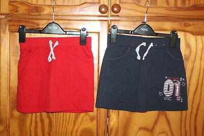 Girls Skirts Blue Red Age 9-10 Years