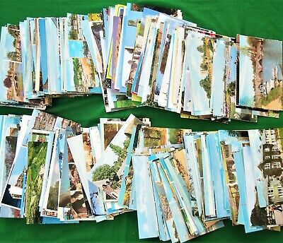 Collection 430 Modern Colour UK Topographical Postcards 1960s to c2000s