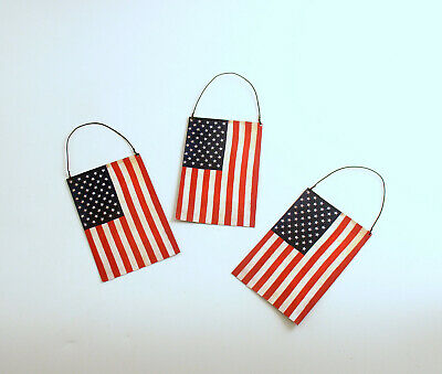 4th of July Flag Ornaments Bethany Lowe