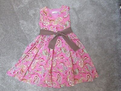 Joules girls 6 years pink summer holiday dress - Good used condition