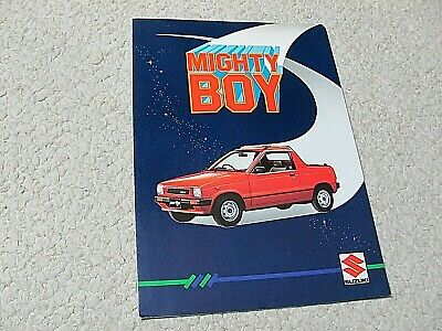 1980's SUZUKI MIGHTY BOY SALES BROCHURE...