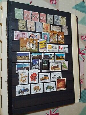 AUSTRALIAN STAMP COLLECTION IN  ALBUM mostly complete from 1954 to 1984. As seen