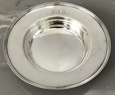 Frank M Whiting Sterling Silver Round Bowl Dish Scrap 102 Grams