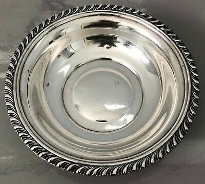 Manchester Sterling Silver Round Bowl Dish Scrap 76 Grams